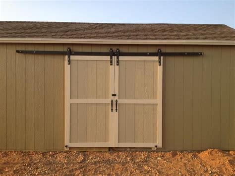 outdoor sliding barn door hardware kit exterior barn doors sliding shed door