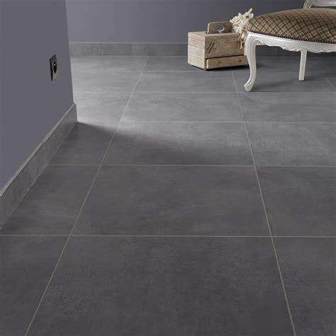 carrelage cuisine gris carrelage sol et mur gris smoke effet béton live l 49 x l