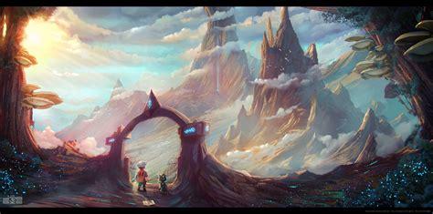 landscape, Spacescapes, Adventurers, Awesome Face ...