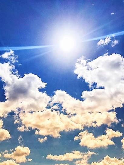 Langit Biru Keren Cerah Gratis Mendung 2000