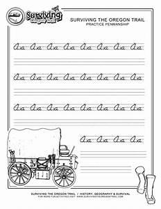 Free Printable Beginner Practice Cursive Worksheet  U2013 A A