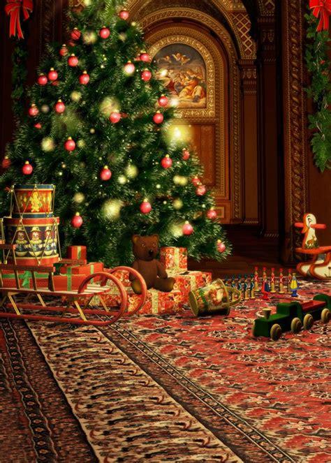 christmas fireplace garland backdrop vinyl photo background 5x7ft grad christmas
