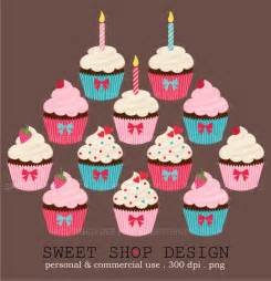 Birthday Cupcake Clip Art Free