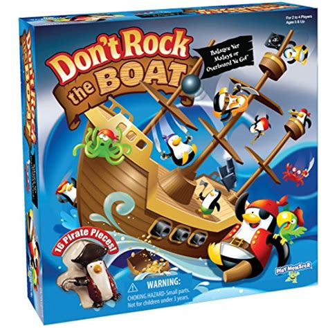 Don T Rock The Boat Game by Action Games For Kids