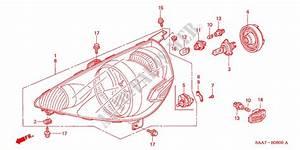 Headlight For Honda Cars Jazz 1 4ls 5 Doors 5 Speed Manual