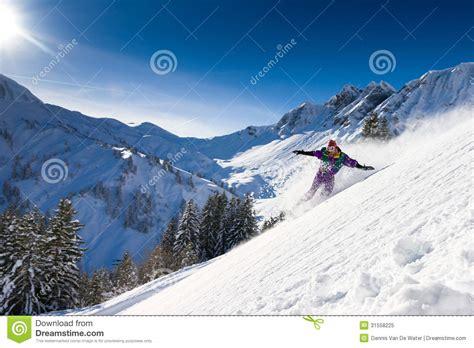 snowboard landscape royalty free stock photo image 31558225