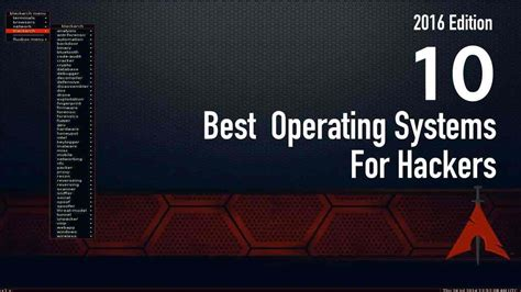best operating system 10 best operating systems for ethical hacking and
