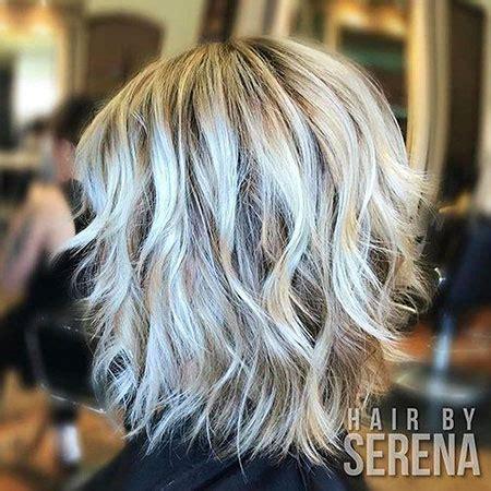medium silver blonde hair color blonde hairstyles