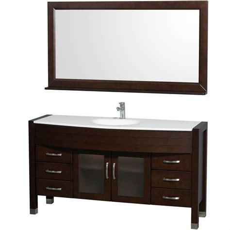 60 vanity single sink wyndham collection daytona 60 modern single sink bathroom