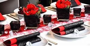 Tischdeko Rot Weiß : pin von tischdeko shop auf tischdeko rot tischdekoration hochzeit rockabilly hochzeit und ~ Watch28wear.com Haus und Dekorationen