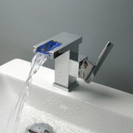 jollyhome fancy color changing led basin faucet bathroom