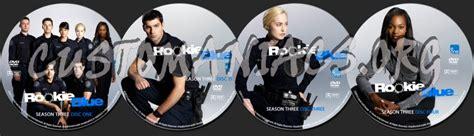 rookie blue season  dvd label dvd covers labels