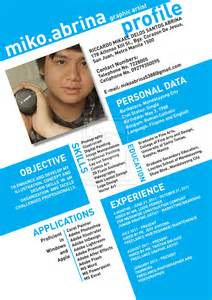 Creative Resume Designed By Moo by Image Blue Grey Contoh Resume