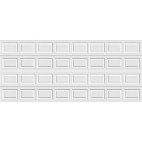 16 Ft Garage Door by Clopay Premium Series 16 Ft X 7 Ft Insulated White