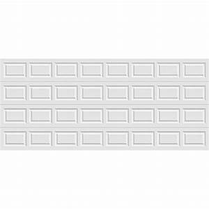 clopay premium series 16 ft x 7 ft insulated white With 16 x 9 insulated garage door