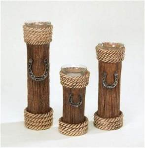 candle stick country western decor pillar votive holders With kitchen cabinets lowes with pedestal votive candle holders