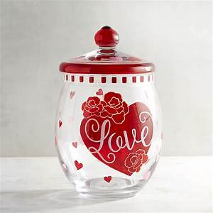 39 s day painted glass cookie jar pier1