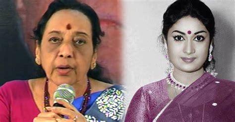 yesteryear actress jamuna jamuna reveals the last days of savithri garu telugu bullet