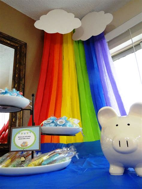 Noah S Ark Decorations - 12 best baby shower ideas images on rainbows