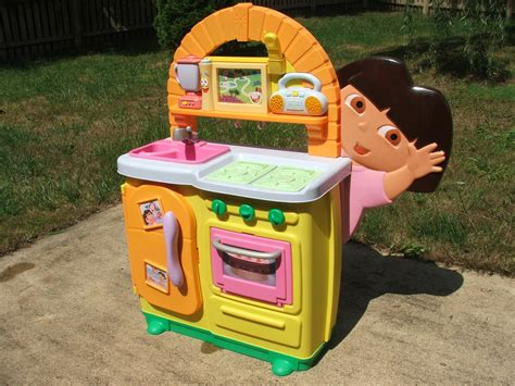 dora kitchen toy set car interior design
