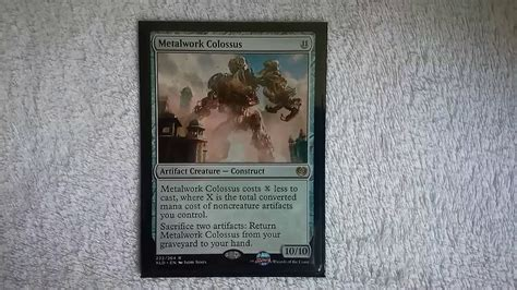 magic  gathering mtg kaladesh metalwork colossus