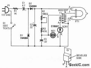 strobe light circuit diagram powerkingco With xenon strobe light