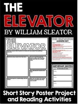 elevator  william sleator short story unit