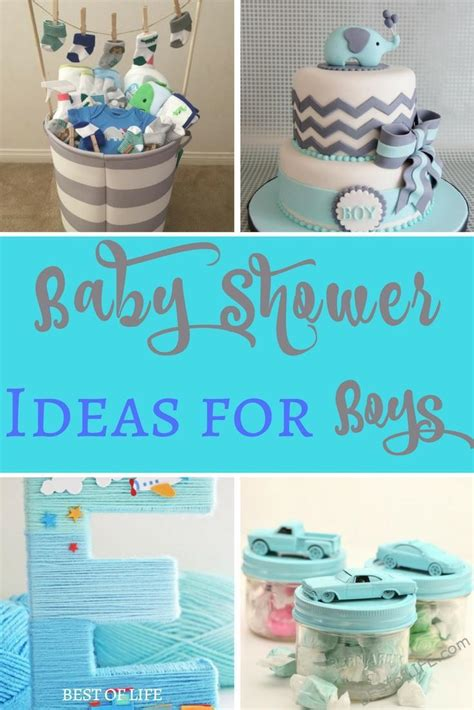 boys shower baby shower ideas for boys themes diy food and budget
