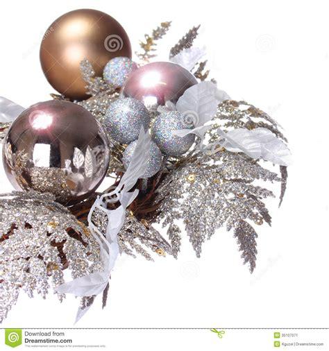 silver christmas decoration shiny  glitter holidays