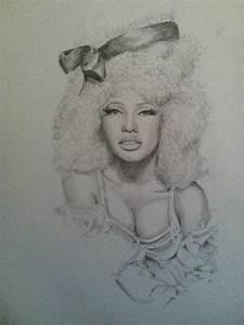 Nicki Minaj by ClareHerbert on DeviantArt