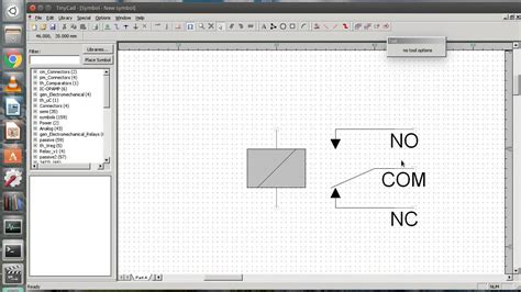 Create New Library Schematic Symbols Tinycad Youtube