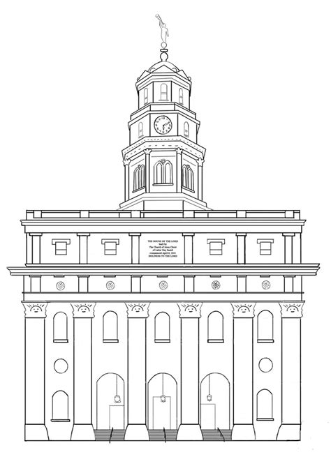 Building The Temple Coloring Pages Latter Day Saints Coloring Pages Lds Coloring Pages