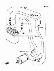 Kawasaki Js650-a3 Parts List And Diagram
