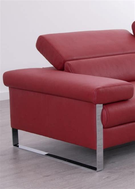 assise canapé canapé cuir design 3 places dreamline assises motorisées