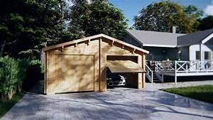 Doppelgarage Aus Holz : doppelgarage e aus holz mit schwingtor youtube ~ Sanjose-hotels-ca.com Haus und Dekorationen