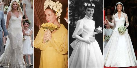 100 Iconic Celebrity Wedding Dresses Of All Time