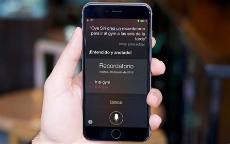 siri on iphone 6 191 c 243 mo activar hey siri en tu iphone 6