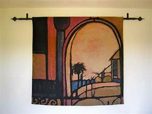 How to Hang a Tapestry - Tips and Tricks