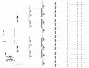 6 best images of generation family tree template printable With 11 generation family tree template