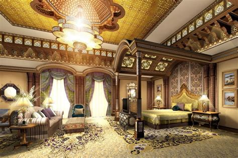 3d Model Luxury Suite With Large Bed Cgtrader