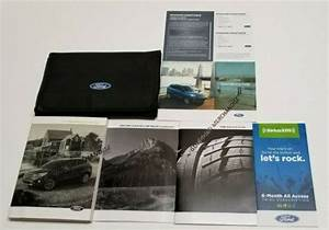 2019 Ford Escape Owners Manual Titanium Sel S Se Plus