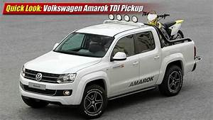 Pick Up Amarok : quick look volkswagen amarok tdi pickup youtube ~ Medecine-chirurgie-esthetiques.com Avis de Voitures