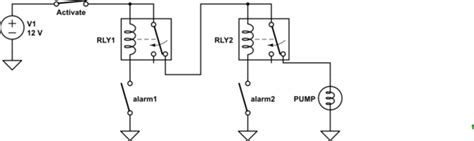 Relay How Make Latching Circuit With Ground