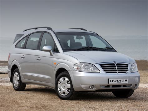2007 Ssangyong Rodius - pictures, information and specs ...