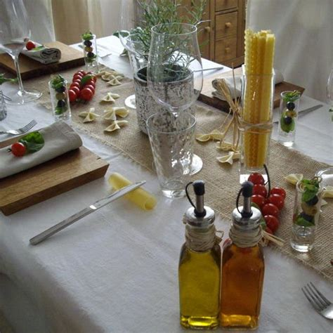 party table decoration ideas celebrate italian theme