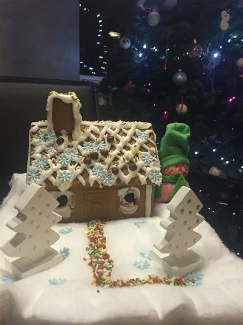 diy ginger bread house twins    images