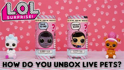 lol surprise    unbox lol surprise interactive