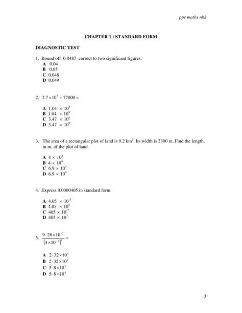 F4 01 Standard Form