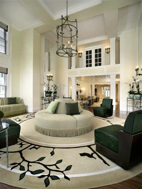 Runder Teppich Wohnzimmer by 30 Runde Teppiche Und Beispiele Wie Den Zimmer Look