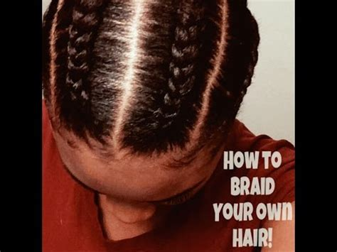 How To Hair by How To Braid Your Own Hair